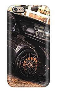 Forever Collectibles Metallic Black Car Hard Snap-on Iphone 6 Case