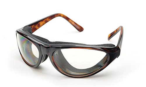 RSVP Tearless Kitchen Onion Goggles, Tortoise Shell (Eye International)