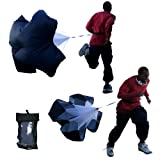 BlueDot Trading Premium Speed Training Resistance Parachute Running Chute Power, 72-Inch/X-Large