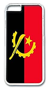 ACESR Angola Flag Coolest iPhone Case PC Hard Case Back Cover for Apple iphone 5C inch
