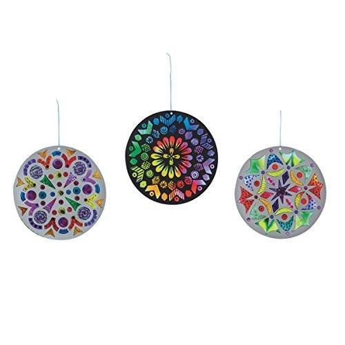 Sun Catcher Mandalas, Round