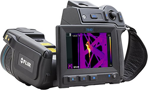 FLIR 55904-7422 Model T640bx Thermal Imaging IR Camera with Wi-Fi and 15° Lens; Built-in touch screen, 4.3