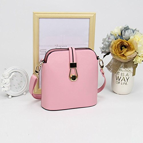 Style Bag Bag Women Pink Bag Shoulder Candy Cross Lady Shell Color YipGrace Messenger Fresh Body q4gAYWt