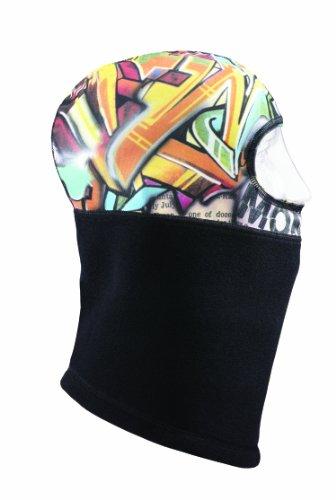 (Seirus Innovation Thick N Thin Headliner Balaclava Headwear, One Size, Graffiti-Multi)