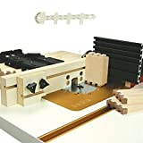 INCRA IJ32FNCSYS Original Jig Fence System with MDF Fence and Shop Stop + Bundle with Big Horn Router Depth Gauge