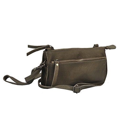 """Vlienca """"40673 Gris"""" sac en bandoulière- L29cmxH11cmxB2cm ..."""