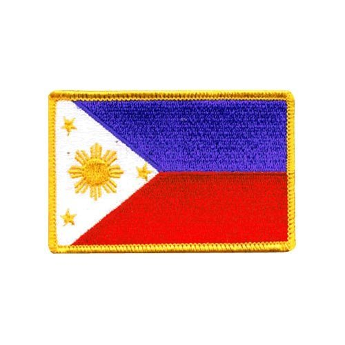 (Philippines Embroidered Patch)