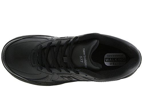 (ニューバランス) New Balance レディースウォーキングシューズ?靴 WW577 Black 8 (25cm) 2A - Narrow