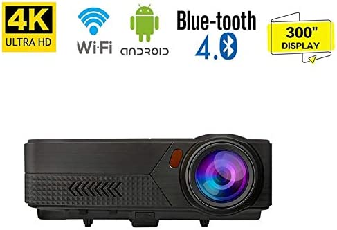 1080P HD Video Projector,Android Video HDMI Projector 19,000