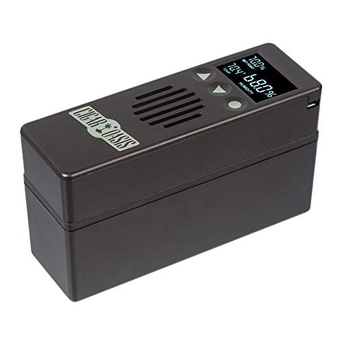 Cigar Oasis Plus 3.0 Electronic Cigar Humidifier with Digital Analog Hygrometer Bundle by Cigar Oasis (Image #4)
