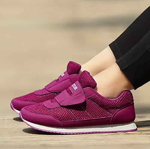 Femme Seaoeey 5 36 Eu Violet Violet Running De Chaussures qxxw71gSC