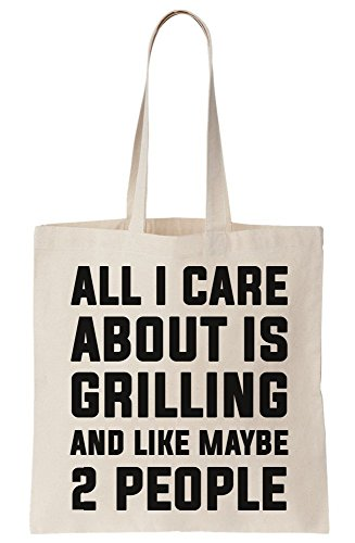 Like All And Care 2 Bag Tote Grilling About Is Maybe I People Canvas qOnrX4O5Y