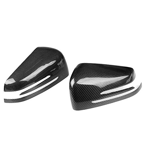 Carbon Fiber Mirror Covers New For MERCEDES-BENZ W204 C-CLASS W212 E-Class 2010-2014