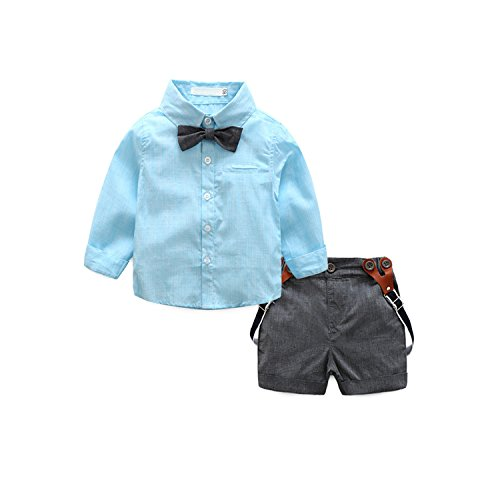 01407f3dc78b8 Search results. dadmon. Dadmon Baby Boys Gentleman Jumpsuit Shorts Set  Toddler Formal Romper Tuxedo With Bowtie ...