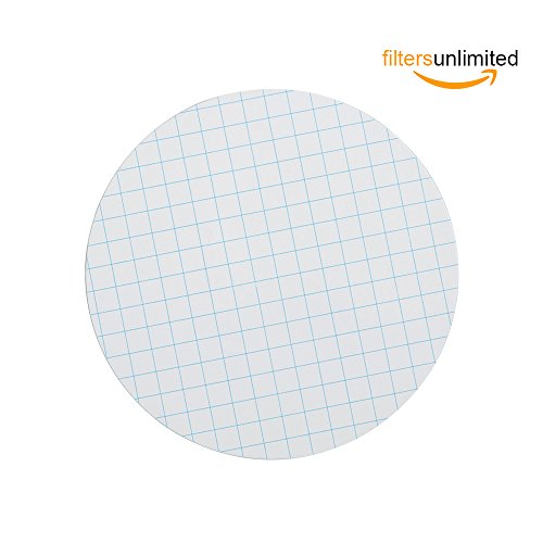 MCE Membrane Filter, Membrane Solutions Lab Supply Sterile MCE Gridded Membrane Filter, Diameter:47mm, Pore:0.45 Micron,Pack of 100 (Mce Filters)
