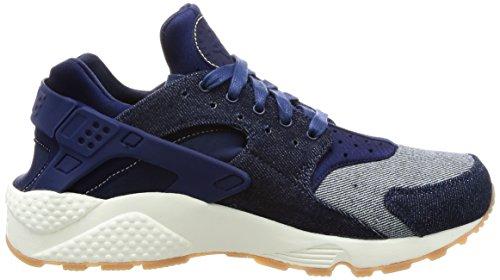 Nike Femmes Huarache Courir Se Chaussure De Course Bleu