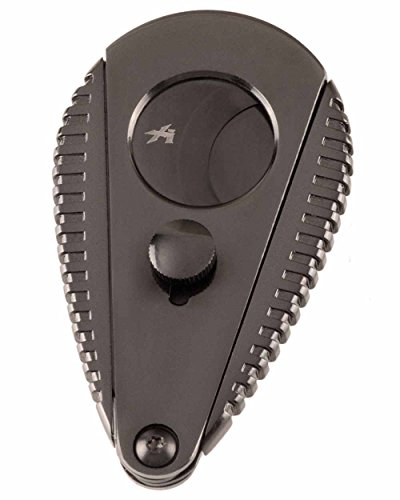 Xi3 High Performance Engine Fin Double Guillotine Cigar Cutter G2 Attractive Gift Box Stingray Sheath Offer by Xikar