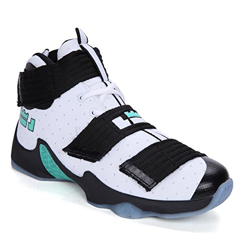 EXCOO Men's Outdoor Walking Leisure and Comfortable Fashion Sports Basketball Shoes ()