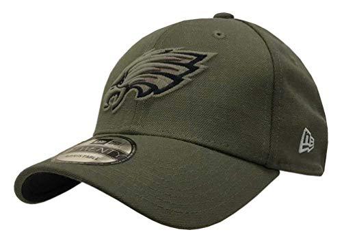 (New Era Mens NFL 2018 Salute to Service 9Twenty Strapback Hat (Philadelphia Eagles))