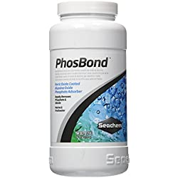 Seachem PhosBond Phosphate Silicate Remover Aquarium Filter Media, 500ml