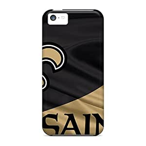 Iphone 5c KAA6758eJDP New Orleans Saints Tpu Silicone Gel Cases Covers. Fits Iphone 5c