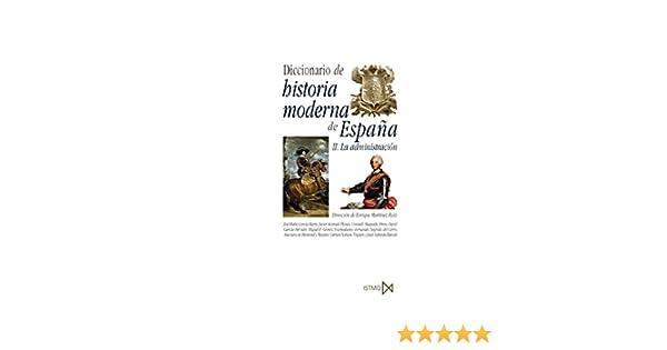 Diccionario de historia moderna de Espa?a: 229 Fundamentos: Amazon ...