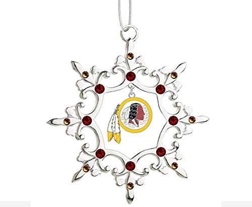 Final Touch Gifts Washington Rhinestone Snowflake Christmas Ornament