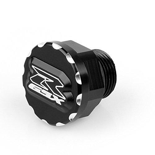 Areyourshop Billet 3D Oil Cap Fit For Suzuki GSXR 600 750 1000 1300 Black