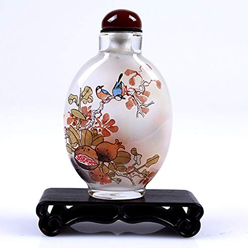 Urns for Ashes Funeral Office Study Decoration Home Decoration Painting Snuff Bottle Features Crafts To Send Foreigner Gifts Wanli Great Wall Ashes Pet Cans Ash Altar Gray Pet Urns Memorial Dog cat Ur