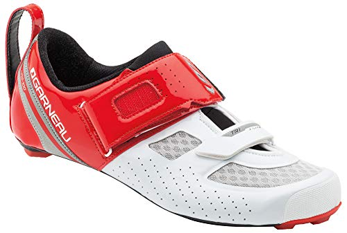 Louis Garneau Men's Tri X-Lite Triathlon 2 Bike Shoes, Ginger/White, US (10), EU (44)