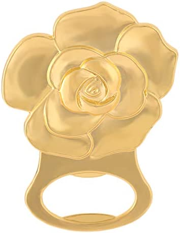 24 pcs Gold Rose Love Bottle Opener Wedding Favors Gifts with Exquisite packaging Box Wedding Gifts For Guests Engagement Anniversaries Souvenirs Party Supplies by WeddParty Rose,24pcs