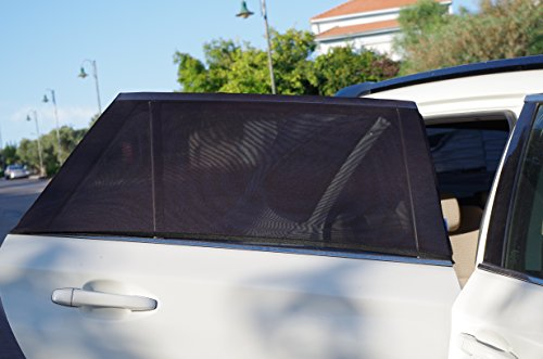 universal fit car side window sun shades protect your babies and kids from uv easy fit fits. Black Bedroom Furniture Sets. Home Design Ideas