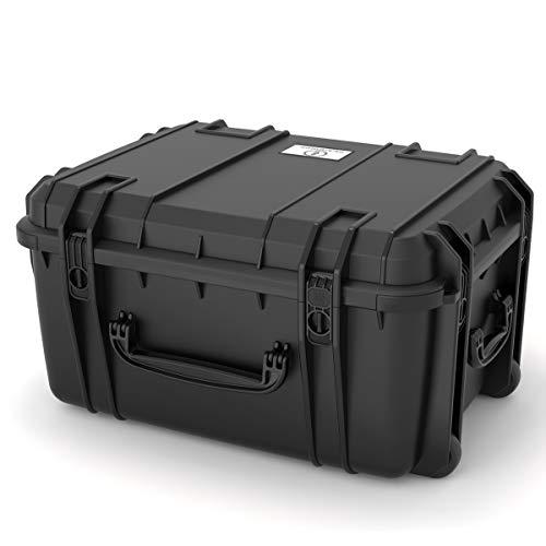 Seahorse SE-1220 Waterproof Protective Wheeled Hardcase Without Foam (Black)
