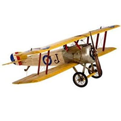 Medium Sopwith Camel - Authentic Airplane Model - Features Handmade Fabric-Covered Frame - Original Details - Authentic Models AP402