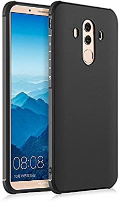 Hevaka Blade Huawei Mate 10 Pro Funda - TPU Carcasa Smart Case Cover Para Huawei Mate 10 Pro - Negro