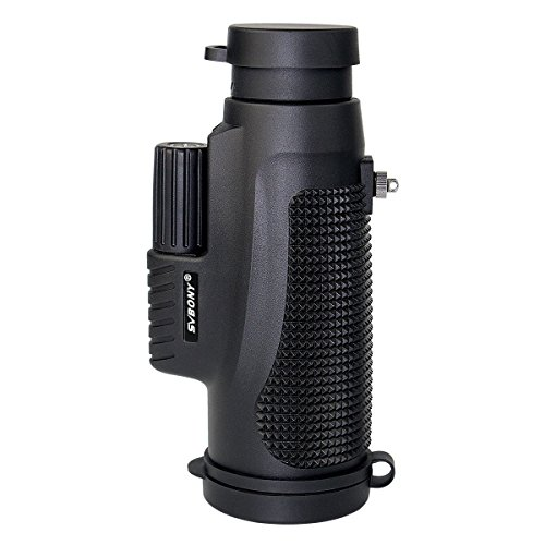 SVBONY SV11 10x42 Monocular Telescope IPX7 Waterproof Monocular for Shooting Bird Watching Hiking