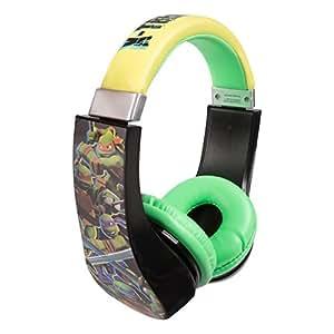 Teenage Mutant Ninja Turtles 30365 Kid Safe Over the Ear Headphone w/ Volume Limiter by Sakar