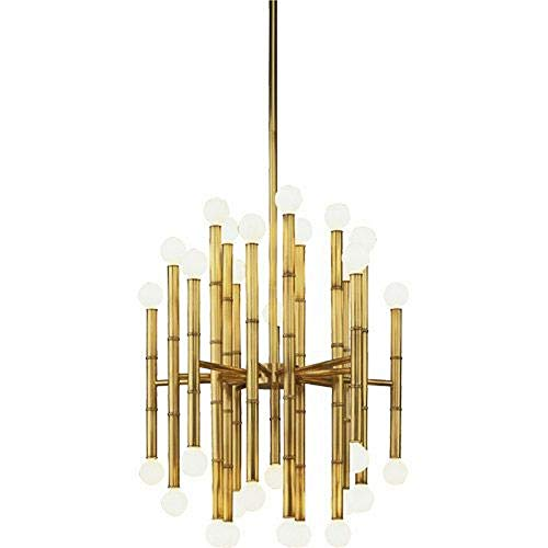Jonathan Adler Meurice Collection 30-Light Brass Chandelier