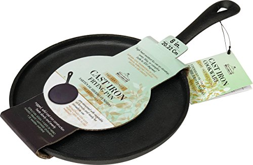 8 inch cast iron griddle - 3