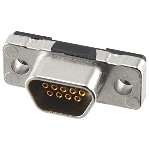 Micro D Sub Connector 9 Contacts Receptacle Micro D 380 Series Through Hole