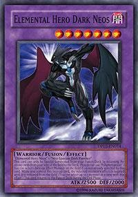 Yu-Gi-Oh! - Elemental Hero Dark Neos (DP03-EN014) - Duelist Pack 3 Jaden Yuki 2 - 1st Edition - Super Rare