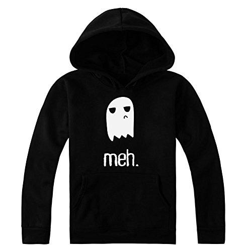 Meh Ghost Women's Hoodie Pullover