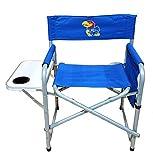 NCAA Kansas Jayhawks Directors Chair, Royal, One Size