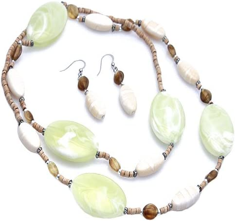 Fashion Women/'s Natural 8mm Green Jade Round Gemstone Beads Necklace 36/'/' Long
