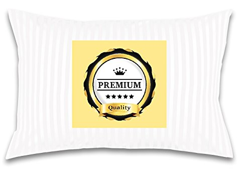 - Toddler/Travel Pillow -No extra Pillowcase/Sham needed-The only Pillow with 300T Cotton and Cluster fiber fill- Hypoallergenic and Machine washable