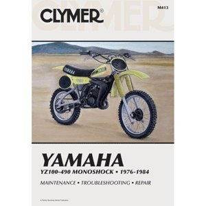 "Used, CLYMER YAMAHA YZ100-490 MONOSHOCK 1976-1984 M413 ""Prod. for sale  Delivered anywhere in USA"