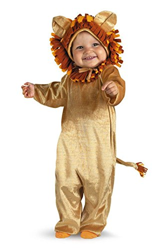 Mememall Fashion Cuddly Cub Lion King Infant Halloween Costume (Cuddly Lion Baby Costume)