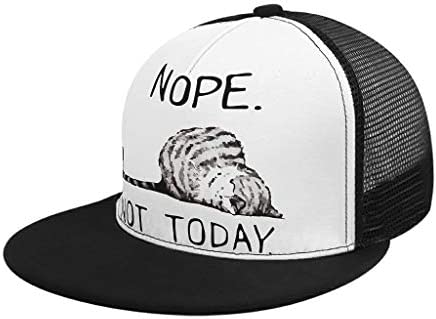 WuJin Nope Not Today Lazy Cat Serigrafiado al Aire Libre Deporte ...