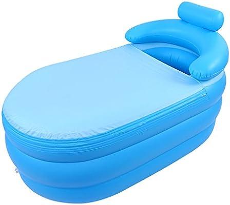 Bañera Hinchable para el hogar Bañera plástica para niños Plegable ...