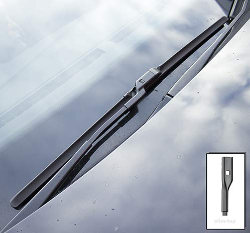 A1 2010-2018 Heyner Germany Aero Full Set Hybrid Windscreen Wiper Blades Front Rear 241614 HH2416ST14HRF